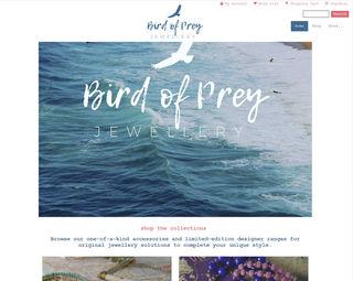 Bird of Prey Jewellery - Ecommerce Webstore