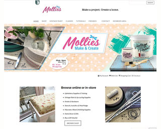 Mollies Make and Create - Ecommerce and Training