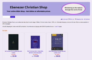Ebenezer Christian Shop