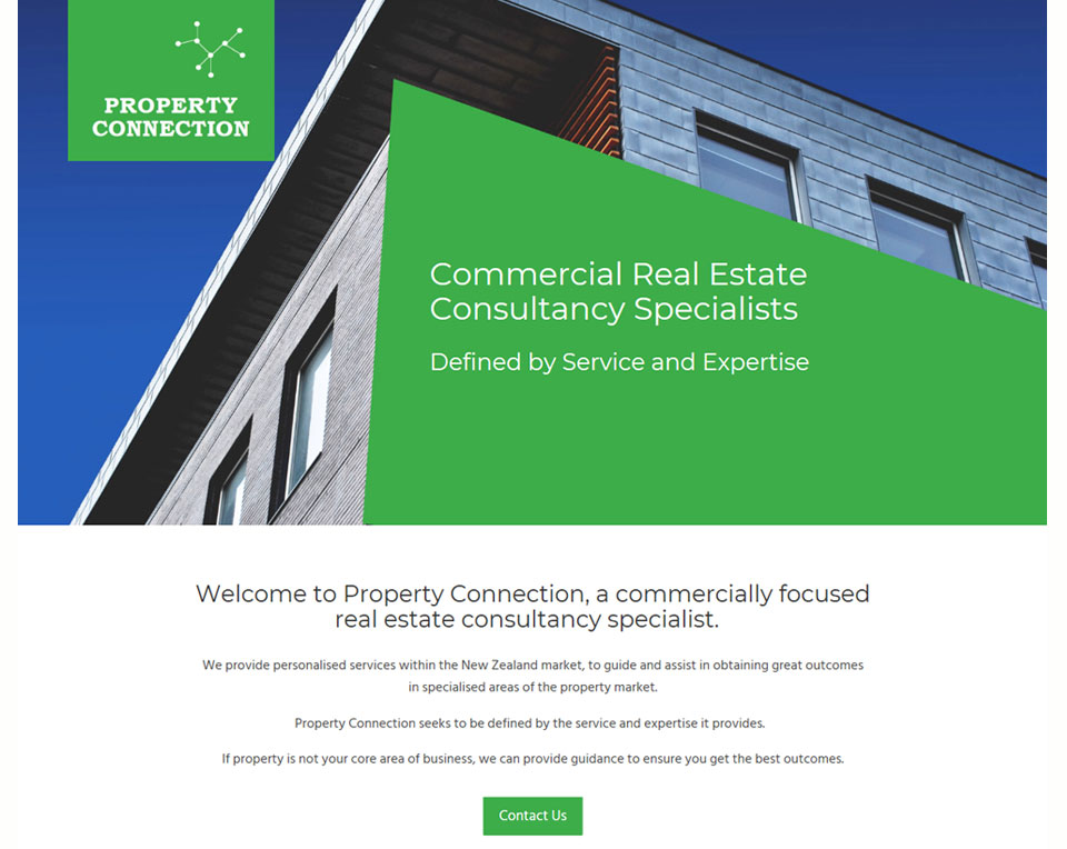 Property Connection - Marketing Website